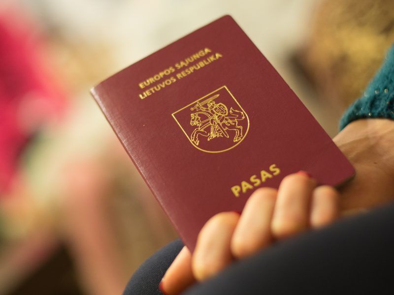 2020 05 04 Lithuanian Passport Will Be Available on the Same Day