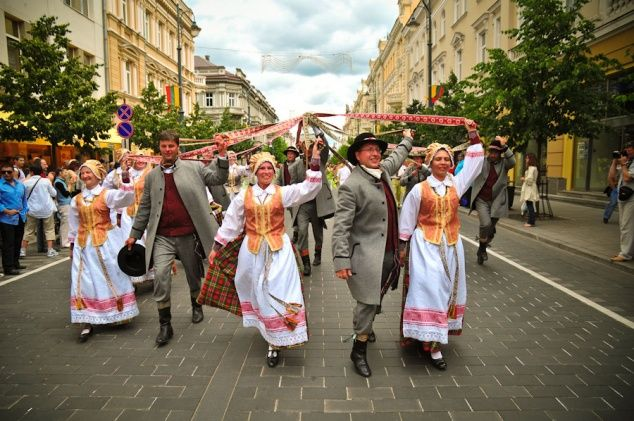 Events, fiestas and entertainments in Lithuania