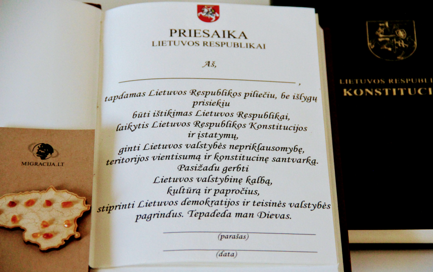 Oath of Allegiance to the Republic of Lithuania
