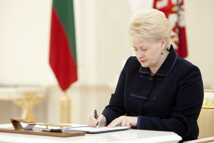 2016 07 06 The President of Lithuania has signed amendments to the Law on Lithuanian Citizenship