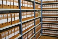 The search of documents in the archives of Lithuania